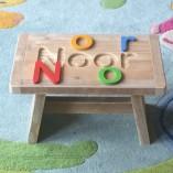 puzzelkruk steigerhout letters los